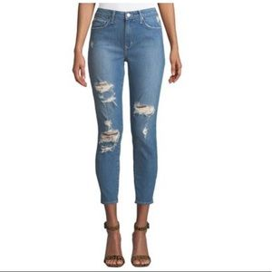 Lovers + friends | Distressed Mid Rise Jeans NWT